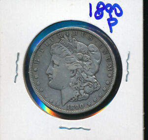 MORGAN SILVER DOLLAR BUY    1890 P