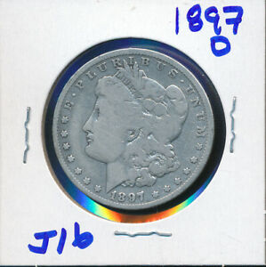 MORGAN SILVER DOLLAR BUY    1897 O   J16