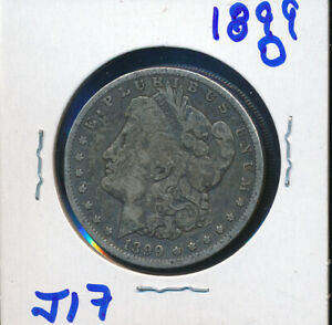 MORGAN SILVER DOLLAR BUY    1899 O   J17