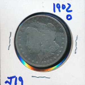 MORGAN SILVER DOLLAR BUY    1902 O   J18