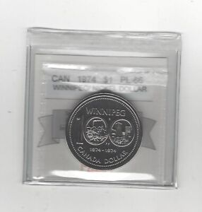 1974  COIN MART GRADED CANADIAN NICKEL DOLLAR   PL 66