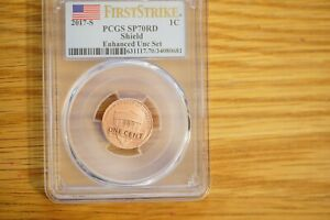 2017 S 1C LINCOLN CENT ENHANCED PCGS SP70RD