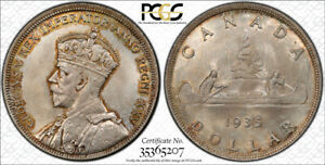 1935 SILVER DOLLAR $1 PCGS MS 66   SUPERB GOLDEN TONES