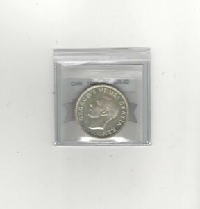 1948 COIN MART GRADED CANADIAN SILVER DOLLAR   MS 62