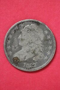 1833 CAPPED BUST DIME SILVER COIN EXACT COIN SHOWN LOW GRADE COIN OCE 51