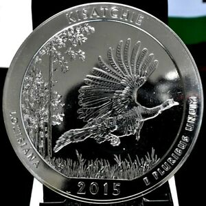 2015 KISATCHIE AMERICA THE BEAUTIFUL ATB 5 OZ SILVER QUARTER
