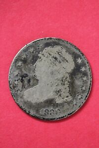 1830 CAPPED BUST DIME SILVER COIN EXACT COIN SHOWN LOW GRADE COIN OCE 08