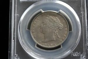 1899 SMALL 1ST 9 PCGS GRADED CANADIAN SILVER 50 CENT   EF 45