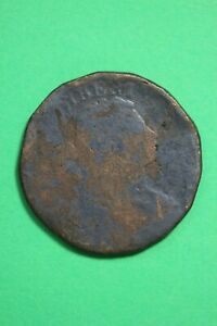 DATELESS DRAPED BUST LARGE CENT LOW GRADE EXACT COIN SHOWN FLAT RATE SHIP OCE 70