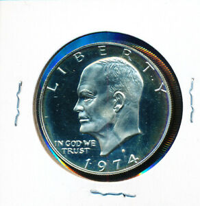 EISENHOWER 1974 S  CLAD PROOF   A BUY