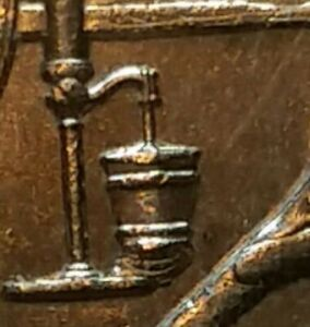 2015 P HOMESTEAD QUARTER  DIE ERROR   LEAKY BUCKET  BOTTOM DROPPED OUT