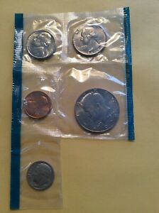 MINT SET INCOMPLETE   1979 PHILADELPHIA: 5 COINS NO S.B.ANTHONY      MSB 61