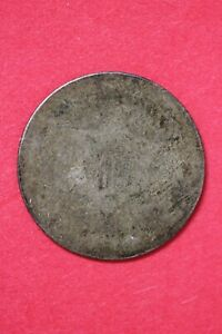 NO DATE TRIME 3 CENT SILVER COIN EXACT COIN SHOWN LOW GRADE COIN OCE 68