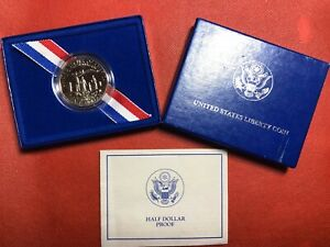 1996 LIBERTY HALF DOLLAR PROOF COIN 1886 1996 WITH BOX FC13