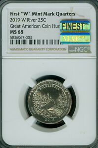 Click now to see the BUY IT NOW Price! 2019 W RIVER NO RETURN QUARTER NGC MS68 PQ MAC FINEST GRADE MAC SPOTLESS