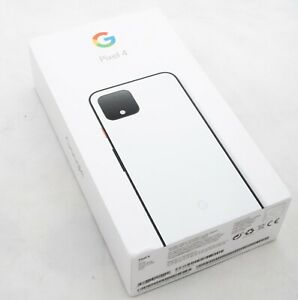 GOOGLE PIXEL 4   64 GB CLEARLY WHITE MODEL G020M