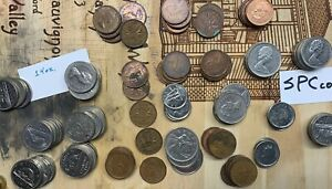 CANADA COINS WORLD LOT CANADIAN COINAGE 14 OZ. SOME OLDER STUFF    SPCCOINS