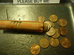 1977 ROLL OF LINCOLN CENTS       CIRCS       >> C/S & H AVAILABLE <<