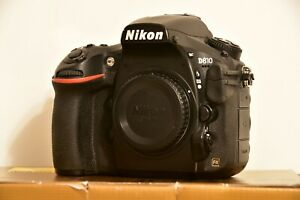 NIKON D810 36.3MP FULL FRAME DSLR LOW USAGE WITH JUST 7300 SHOTS MADE