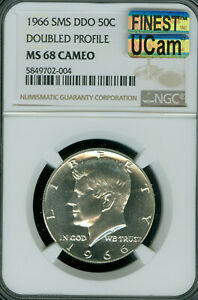 Click now to see the BUY IT NOW Price! 1966 KENNEDY HALF DOLLAR NGC MS68 CAMEO MAC UCAM & MAC FINEST SPOTLESS