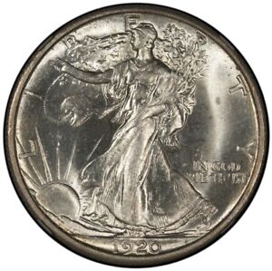 Click now to see the BUY IT NOW Price! 1920 S WALKING LIBERTY HALF DOLLAR 50C NGC MS65