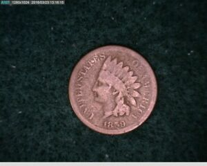 1859 INDIAN CENT PENNY   54 159 6M/O