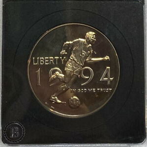 1994 WORLD CUP USA HALF DOLLAR PROOF COMMEMORATIVE COIN LOW MINTAGE 168 208