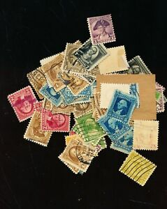 WASINGTONS 1932    LARGE LOT OF MIXED  6 DIFFEREND AND 65STAMPS