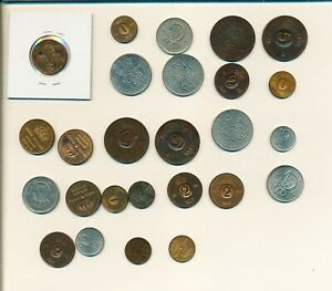 SWEDEN LOT OF 27 MIXED COINS