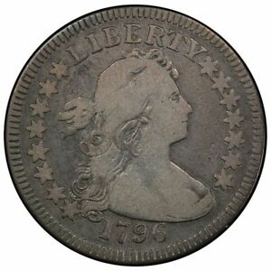 Click now to see the BUY IT NOW Price! 1796 25C DRAPED BUST QUARTER PCGS VG10