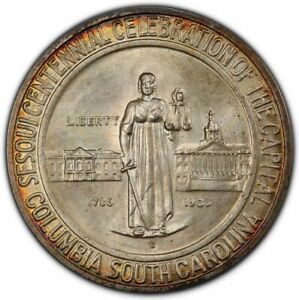 Click now to see the BUY IT NOW Price! COLUMBIA 1936 D 50C SILVER COMMEMORATIVE PCGS MS68