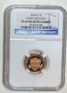 2014 S LINCOLN SHIELD NGC 1C  PF 69 RD ULTRA CAMEO EARLY RELEASE