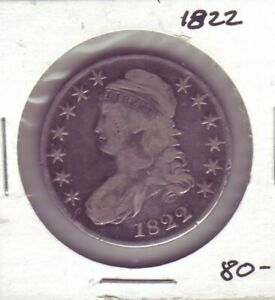 1822 CAPPED BUST HALF DOLLAR  36630
