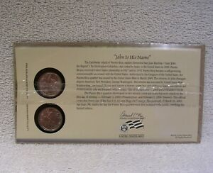 2009  PUERTO RICO  FIRST DAY COVER   SEALED CELLO P & D MINT STATE QUARTER WB2