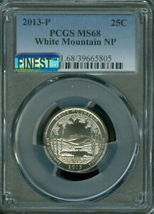 Click now to see the BUY IT NOW Price! 2013 P WHITE MOUNTAIN QUARTER PCGS MS68 PQ MAC FINEST GRADE MAC SPOTLESS
