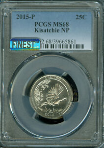 Click now to see the BUY IT NOW Price! 2015 P KISATCHIE QUARTER PCGS MS68 PQ MAC FINEST & MAC SPOTLESS