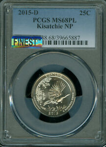 Click now to see the BUY IT NOW Price! 2015 D KISATCHIE QUARTER PCGS MS68 PL MAC FINEST & MAC SPOTLESS  POP 2