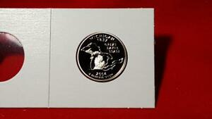 2004 S MICHIGAN STATE QUARTER     ULTRA DEEP CAMEO PROOF MUST SEE PICS