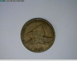 1857 FLYING EAGLE CENT   49 208 9M/O