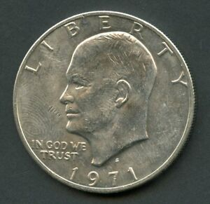 UNITED STATES  1971 S UNC SILVER EISENHOWER DOLLAR YOU DO THE GRADING