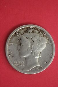 1919 D MERCURY DIME EXACT SILVER COIN SHOWN COMBINED FLAT RATE SHIPPING OCE 35