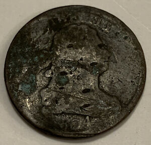 1804 DRAPED BUST HALF CENT UNITED STATES COIN