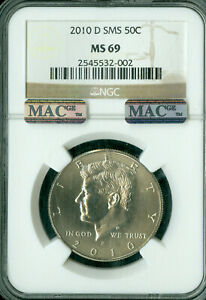 Click now to see the BUY IT NOW Price! 2010 D KENNEDY HALF DOLLAR NGC MS69 SMS PQ MAC FINEST REGISTRY MAC SPOTLESS