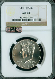 Click now to see the BUY IT NOW Price! 2013 D KENNEDY HALF DOLLAR NGC MAC MS68 PQ PL 2ND FINEST SPOTLESS