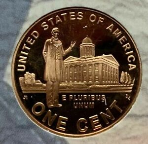 2009 S PROOF LINCOLN CENT PROFESSIONAL LIFE FROM SILVER PROOF SET DEEP CAMEO