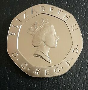 UNC GREAT BRITAIN 1985 20 PENCE