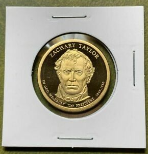 2009 PROOF ZACHARY TAYLOR PRESIDENT'L DOLLAR FROM 2009 US MINT SILVER PROOF SET