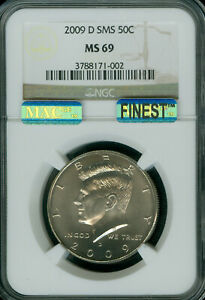 Click now to see the BUY IT NOW Price! 2009 D KENNEDY HALF DOLLAR NGC MS69 PQ SMS MAC FINEST REGISTRY MAC SPOTLESS