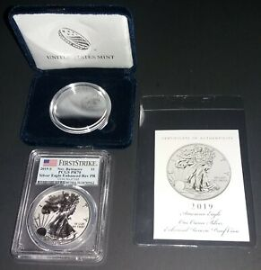 Click now to see the BUY IT NOW Price! 2019 S ENHANCED REVERSE PROOF SILVER EAGLE  1  OF 50
