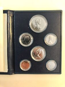 1981 ROYAL CANADIAN MINT 6 COIN PROOF SET